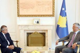 Thaçi ka pritur në takim kryesuesin e UNMIK-ut në Kosovë, Zahir Tanin, jetësuesin e Rezolutës 1244