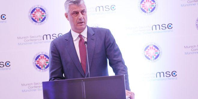 Kryetari Thaçi: Nuk mund të ketë zgjidhje të qëndrueshme në Ballkan pa mbështetjen e Gjermanisë