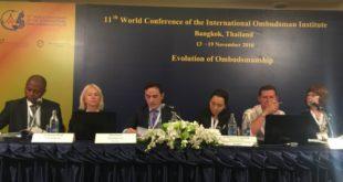 Hilmi Jashari, po merr pjesë në Konferencën e 11-të botërore të Institutit Ndërkombëtar të Ombudsmanëve