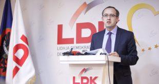 Avdullah Hoti: Është brengosëse qysh Vetëvendosjes i duhet e gjithë kjo kohë dhe nuk pajtohet me LDK-në