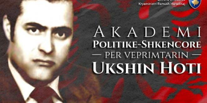 """Tryeza përkujtimore, """"Dritë për Ukshin Hotin"""", mbahet më 16 maj 2019, në orën 16.00 në ambientet e Institutit Albanologjik, në Prishtinë"""
