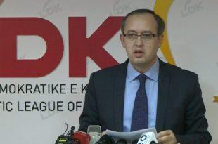 Avdullah Hoti: Në SHBA nuk jam pjesë e asnjë delegacioni por e përfaqesojë Grupin Parlamentar të LDK-së
