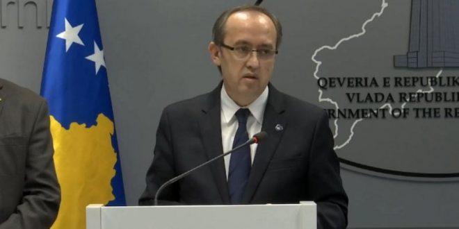 Zëvendëskryeministri, Avdullah Hoti, ka thënë se qeveria nuk ishte e Albin Kurtit por e koalicionit LVV-LDK