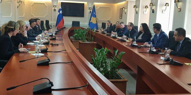 Deputetët e Lidhjes Demokratike të Kosovës takuan kryetarin e Sllovenisë, Borut Pahor
