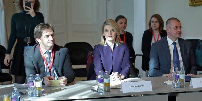 Ministrja e Integrimit Evropian, Dhurata Hoxha, ka marrë pjesë në konferencën ministrore për çështje evropiane në Vjenë