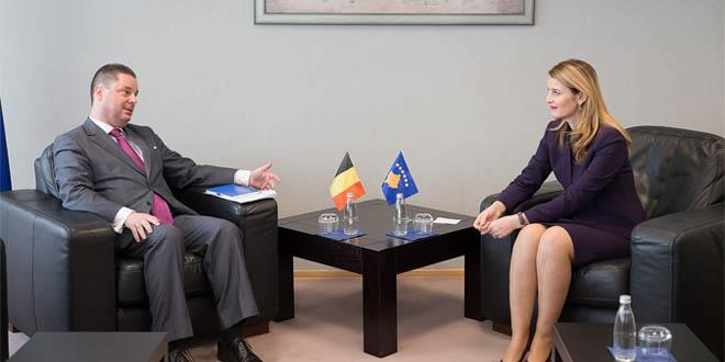 Ministrja Hoxha: Belgjika - partner i fuqishëm yni në drejtësi