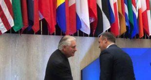 Ministri, Enver Hoxhaj ka biseduar me Sekretarin Amerikan të Shtetit, Rex Tillerson