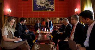 Zëvendëskryeministri i Kosovës, Enver Hoxhaj takon liderët institucional të shtetit shqiptar në Tiranë