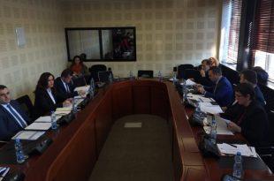 Kryeshefja, Miradije Kelmendi, raportoi mbi punën e Inspektoriatit Policor të Kosovës, për vitin 2018