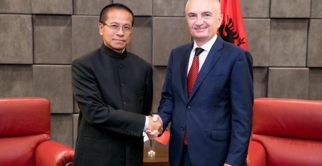 Kryetari i Shqipërisë Ilir Meta kërkuar që India ta rishqyrtoi qëndrimin për Kosovën dhe të marr vendim për njohje