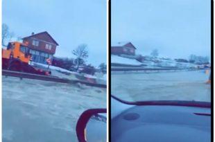 Shumë rajone të Kosovës vazhdojnë të jenë në gjendje të rëndë si shkak i vërshimeve pas reshjeve të fundit të borës dhe shiut