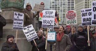 Qytetarët e Shteteve të Bashkuara të Amerikës shprehen kundër luftës me Iranin, manifestojnë pro paqes