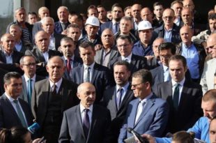 Kryeministri i Kosovës, Isa Mustafa, ka vizituar minierën e Trepçës në Stantërg