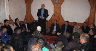 Isa Xhemajlaj takon qytetarët dhe bizneset në Drenas