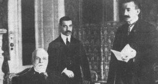 Ismail Qemali dhe Hasan Prishtina