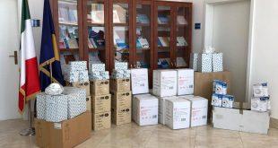 IKShPK pranon një donacion me pajisje dhe material mbrojtëse nga Italia për personelin shëndetësor parandalimin e koronavirusit