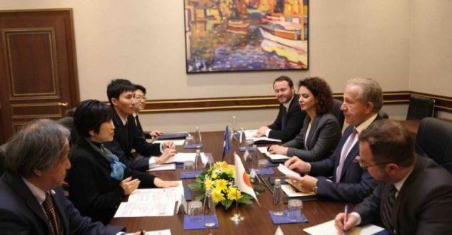 Pacolli thotë se lajm i mirë është hapja e ambasadës së Japonisë në Prishtinë që do të hap një dimension të ri
