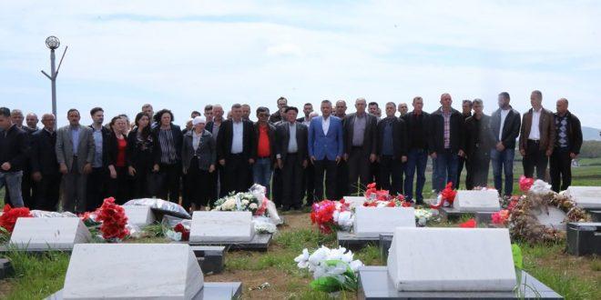 Bekim Jashari: Dëshmorët e kombit janë meritorët absolut të lirisë dhe pavarësisë së Kosovës