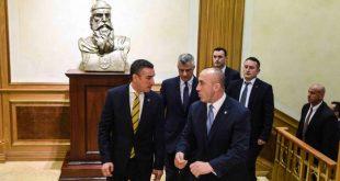 Në mëngjesin e sotëm janë takuar kryetari i vendit, Hashim Thaçi, lideri i PDK-së, Kadri Veseli dhe ai i AAK-së, Ramush Haradinaj