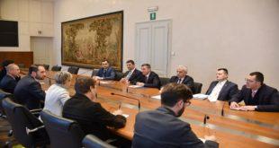 Kryetari i Kuvendit të Kosovës, Kadri Veseli, ka filluar vizitën zyrtare në Itali
