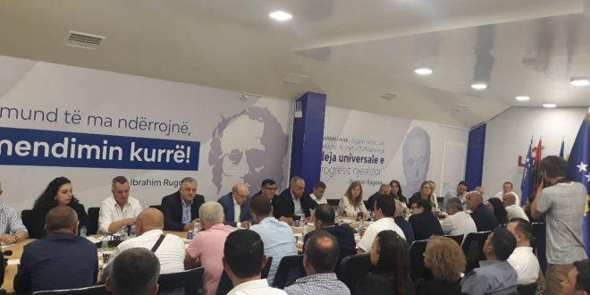 LDK sot e mban mbledhjen e kryesisë se re për ta caktuar mandatarin për kryeministër nga kjo parti