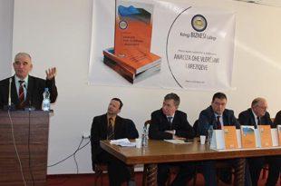 """Kolegji """"Biznesi"""" përuroj librin """"Analiza dhe Vlerësimi i Rreziqeve"""" të autorit Prof. dr. Kudusi Lama"""