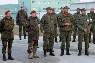 Komandanti i Ushtrisë së Gjermanisë vizitoi FSK-në