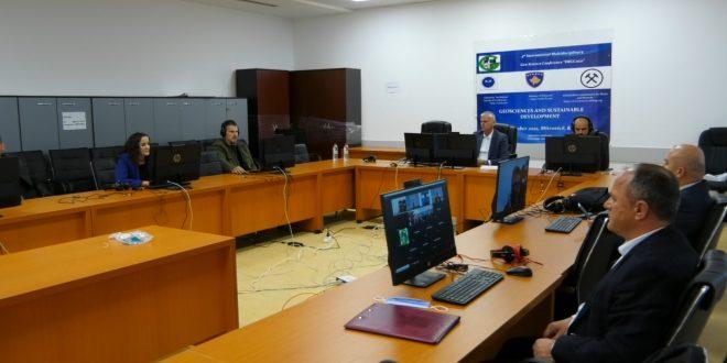 """Në Universitetin """"Isa Boletini"""", në Mitrovicë, u mbajt Konferenca Multidisiplinare për Gjeo-shkenca IMGC2021"""