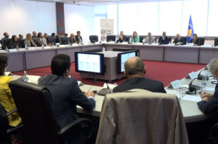 Ministrja Hoxha, mori pjesë në konferencën për Ditën e BE-së kundër trafikimit të qenieve njerëzore