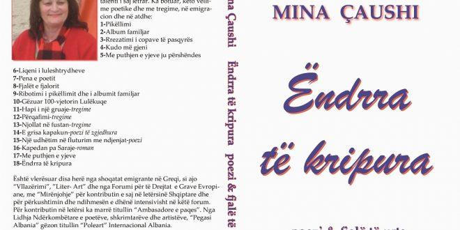 """Albert Z. Zholi: Libri dialogues """"Ëndrra të kripura"""" i poetes Mina Çaushi"""