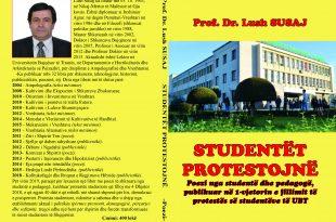 """Albert Z. ZHOLI: Libri me poezi """"STUDENTËT PROTESTOJNË"""" dhe realiteti i sotëm"""