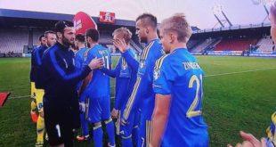 Ukraina ka fituar tre me zero në lojën kundër ekipit të Kosovës