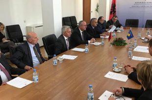 Sot në Prishtinë u nënshkrua marrëveshja në fushën e gjeodezisë, mes Kosovës dhe Shqipërisë