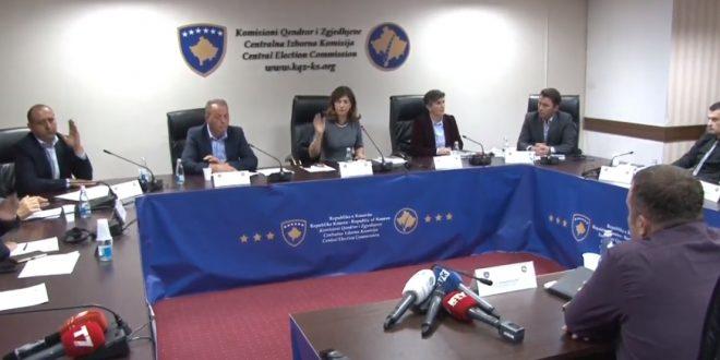KQZ nuk i certifikon kandidatët e Listës Serbe për kryetarë të komunave veriore për zgjedhjet e 19 majit