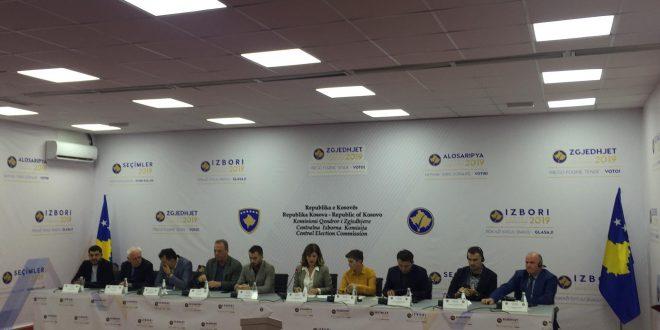 KQZ-ja me vota unanime ka certifikuar rezultatet përfundimtare të zgjedhjeve të parakohshme të 6 tetorit