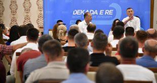 Veseli: Reformat e reja që kanë filluar në PDK do ta fuqizojnë këtë subjekt edhe më shumë si partia me e madhe në vend