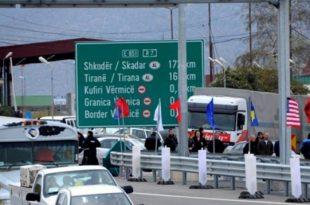 Sot nëshkruhet marrëveshja për ngritjen e pikave të përbashkëta të kalimit kufitar në mes të Kosovës dhe Shqipërisë