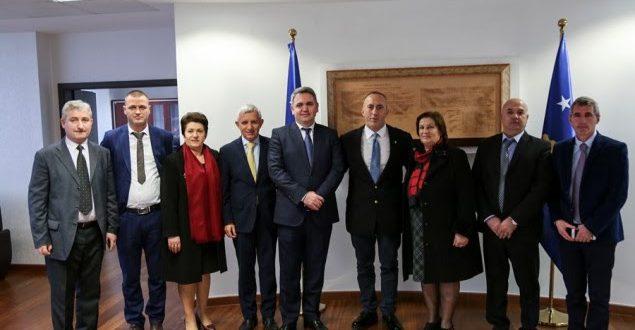 Haradinaj falënderon qytetarët e Kukësit për mbështetjen dhënë Kosovës në etapat më të rëndësishme historike