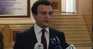 Kurti: Pas deklarimeve të Thaçit për Kosovën Lindore, në Bujanoc është rritur prania e xhandarmërisë serbe