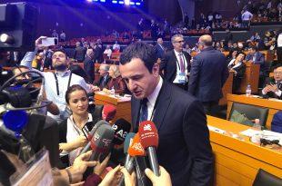 Nuk duhet ta lejojmë Jugosllavinë e Katërt shprehet kryetari i Vetëvendosjes, Albin Kurti