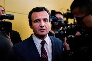Albin Kurti: Pas 10 viteve në Prishtinë do të valojë flamuri i BE-së. Nëse ndodh do të mirëpritet edhe bashkimi me Shqipërinë