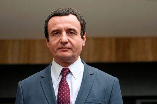 """Kryetari i Vetëvendosjes, Albin Kurti, thotë se nuk do ta pranojë Marrëveshjen e 4 shtatorit, """"kur të kthehet në detyrë"""""""