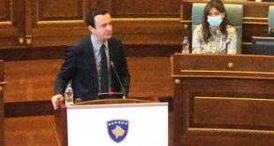 Kryeministri Kurti, tha se në veri të Ibrit ka më shumë rend e ligj, sesa ka pasur që nga shpallja e pavarësisë