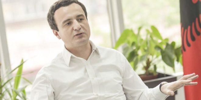 Albin Kurti: Serbia po e imiton Rusinë, si një oktapod i vogël në vendet e ish RSFJ-së