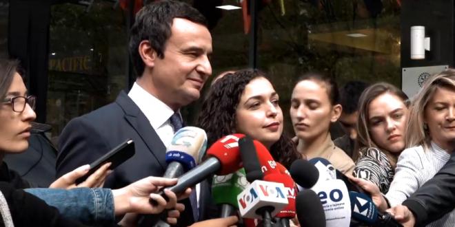 Lëvizja Vetëvendosje dhe Lidhja Demokratike e Kosovës janë pajtuar për të bashkqeverisur së bashku