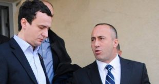 Haradinaj kërkon nga kryeministri Kurti që mos ta heq taksën veç nëse Serbia e njeh pavarësinë e Kosovës
