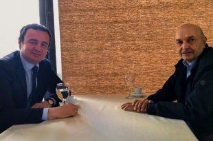 Kryetari i Vetëvendosjes, Albin Kurti dhe ai i LDK-së, Isa Mustafa takohen nesër për të diskutuar rreth formalizimit të bashkëqeverisjes