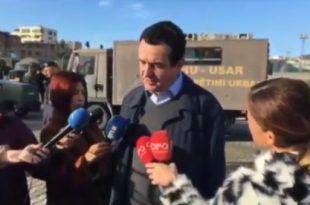 Albin Kurti: Institucionet e Shqipërisë dhe Kosovës të ofrojnë ndihma në mënyrë që të shmanget kriza humanitare