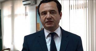 Albin Kurti kërkon që Kosova të bëjë marrëveshje me Shqipërinë për mbrojtje të përbashkët