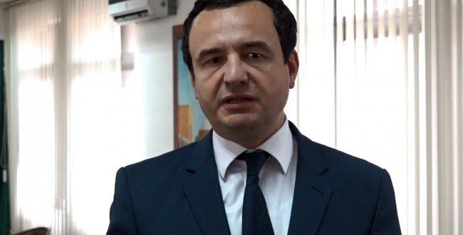 Albin Kurti thotë se shteti i Kosovës po i trajton në mënyrë të diferencuar arrestimet e ish-ushtarëve të UÇK-së